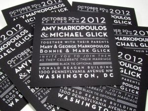 Black-and-white-foil-stamp-invitation